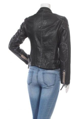 Дамско кожено яке Gipsy By Mauritius, Размер M, Цвят Черен, Естествена кожа, Цена 314,25лв.
