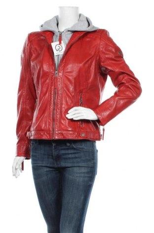 Γυναικείο δερμάτινο μπουφάν Gipsy, Μέγεθος XL, Χρώμα Κόκκινο, Γνήσιο δέρμα, Τιμή 100,81€