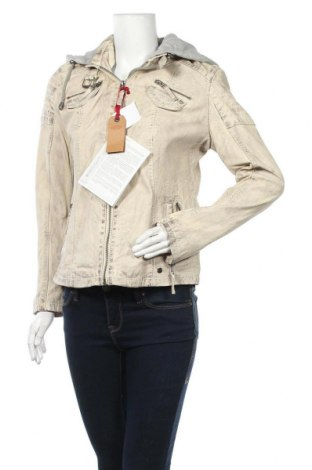 Γυναικείο δερμάτινο μπουφάν Kangaroos, Μέγεθος L, Χρώμα  Μπέζ, Γνήσιο δέρμα, Τιμή 76,22€
