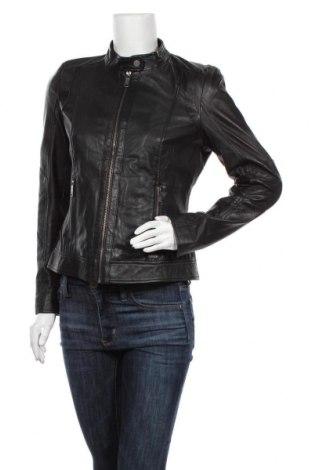 Дамско кожено яке Maze, Размер M, Цвят Черен, Естествена кожа, Цена 291,85лв.