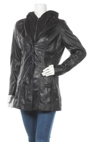 Дамско кожено яке Maze, Размер L, Цвят Черен, Естествена кожа, Цена 304,85лв.