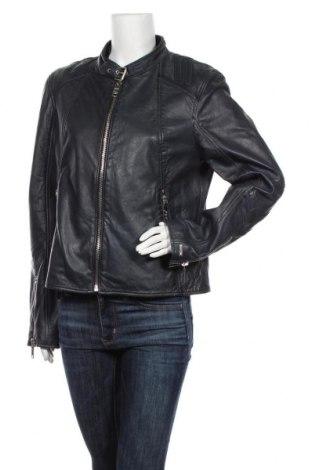 Дамско кожено яке Maze, Размер XL, Цвят Черен, Естествена кожа, Цена 317,85лв.