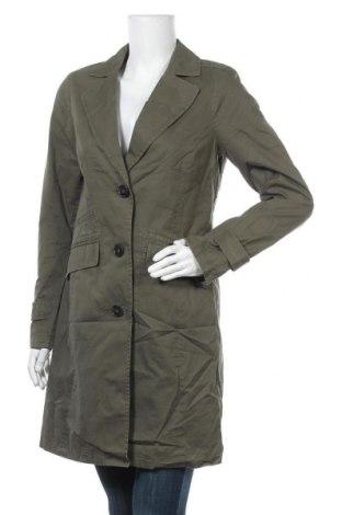 Дамско палто Comma,, Размер S, Цвят Зелен, Памук, Цена 33,90лв.