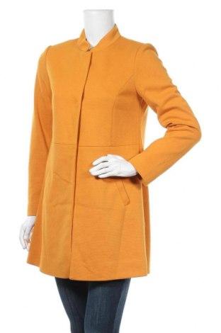 Дамско палто Comma,, Размер S, Цвят Жълт, 65% полиестер, 35% вискоза, Цена 153,30лв.