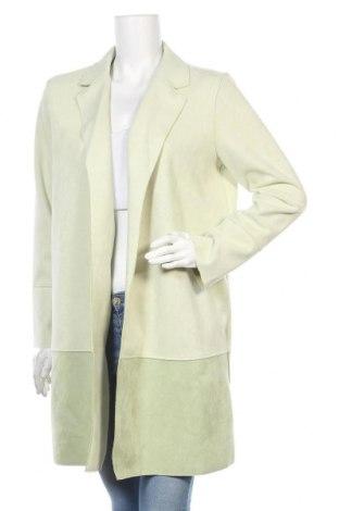 Дамско палто Lascana, Размер L, Цвят Зелен, 94% полиестер, 6% еластан, Цена 76,30лв.