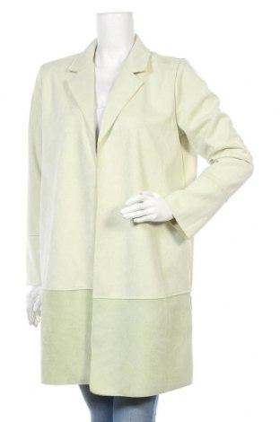 Дамско палто Lascana, Размер L, Цвят Зелен, 94% полиестер, 6% еластан, Цена 64,40лв.