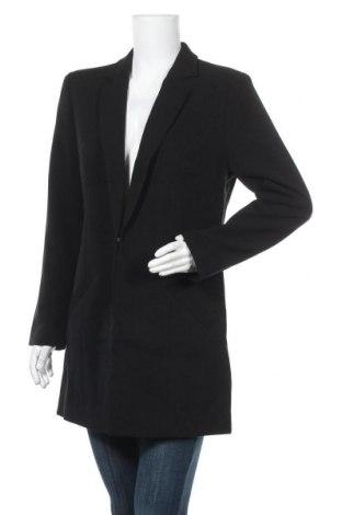 Дамско палто Laura Scott, Размер XL, Цвят Черен, 63% полиестер, 33% вискоза, 4% еластан, Цена 69,30лв.