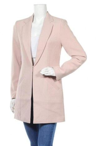Дамско палто Laura Scott, Размер M, Цвят Розов, 63% полиестер, 33% вискоза, 4% еластан, Цена 64,40лв.
