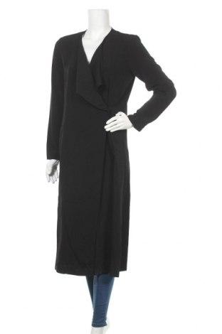 Дамско палто ONLY, Размер M, Цвят Черен, Полиестер, Цена 51,75лв.