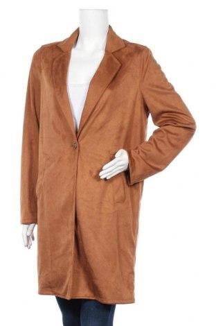 Дамско палто S.Oliver, Размер L, Цвят Кафяв, 83% полиестер, 17% вискоза, Цена 83,30лв.