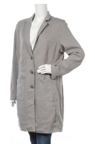 Дамско палто Tom Tailor, Размер XXL, Цвят Сив, 52% полиестер, 45% памук, 3% еластан, Цена 83,85лв.