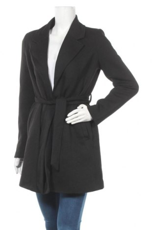 Дамско палто Vero Moda, Размер S, Цвят Черен, 85% полиестер, 15% памук, Цена 62,30лв.