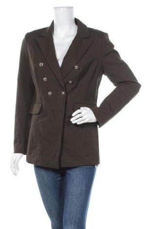 Дамско сако Alba Moda, Размер L, Цвят Зелен, 60% вискоза, 35% полиамид, 5% еластан, Цена 43,45лв.