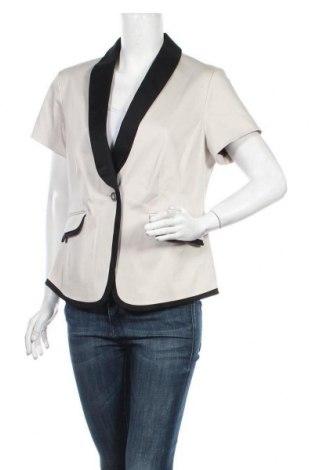 Дамско сако Alba Moda, Размер XL, Цвят Бежов, 98% памук, 2% еластан, Цена 36,75лв.