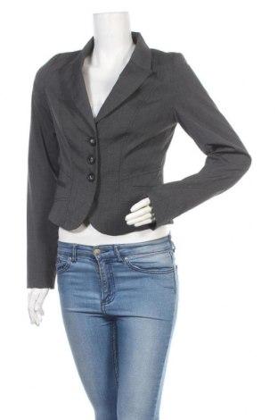 Дамско сако Hot Options, Размер M, Цвят Сив, Полиестер, вискоза, еластан, Цена 8,82лв.