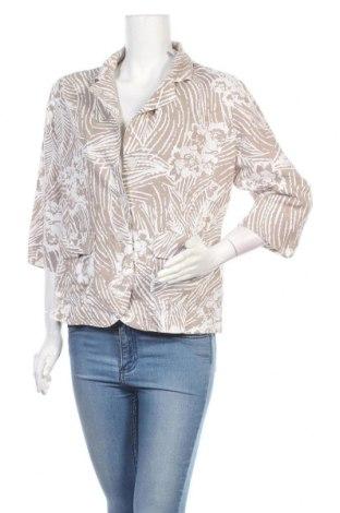 Дамско сако Kingfield, Размер L, Цвят Бял, 55% лен, 45% памук, Цена 15,44лв.