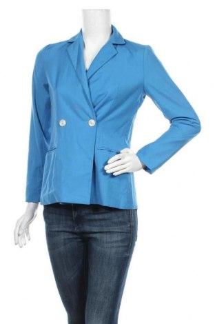 Дамско сако Lane Bryant, Размер S, Цвят Син, 80% полиестер, 20% памук, Цена 27,41лв.