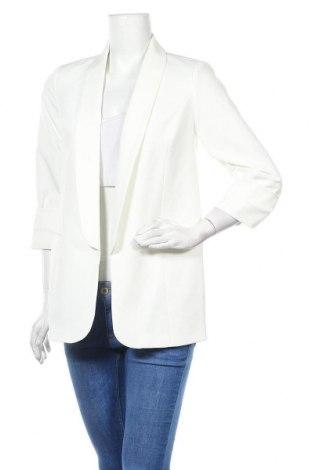 Дамско сако Lascana, Размер S, Цвят Бял, 87% полиестер, 13% еластан, Цена 64,35лв.