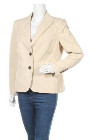 Дамско сако Madeleine, Размер XL, Цвят Бежов, 60% памук, 37% полиамид, 3% еластан, Цена 12,29лв.