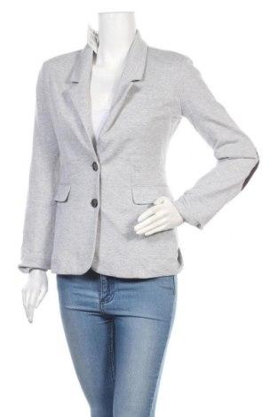 Дамско сако Madonna, Размер M, Цвят Сив, 65% памук, 35% полиестер, Цена 27,30лв.