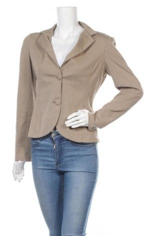 Dámské sako  Rinascimento, Velikost L, Barva Béžová, 55% bavlna, 40% polyamide, 5% elastan, Cena  526,00Kč
