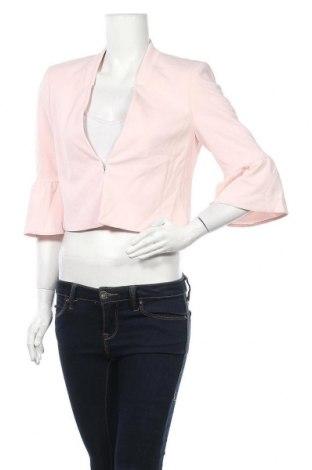 Дамско сако S.Oliver, Размер M, Цвят Розов, 96% полиестер, 4% еластан, Цена 43,68лв.