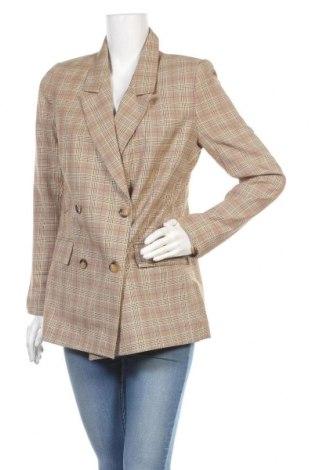 Дамско сако Trendyol, Размер S, Цвят Многоцветен, 75% полиестер, 25% акрил, Цена 41,40лв.