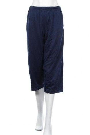 Дамско спортно долнище Adidas, Размер XXL, Цвят Син, Полиестер, Цена 25,88лв.