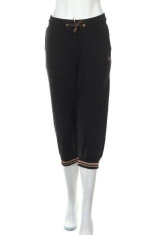 Дамско спортно долнище H.i.s, Размер XL, Цвят Черен, 95% памук, 5% еластан, Цена 41,30лв.