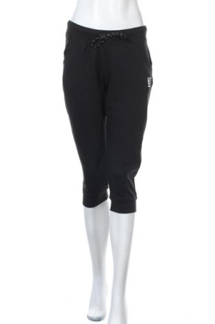 Дамско спортно долнище H.i.s, Размер M, Цвят Черен, 65% полиестер, 35% памук, Цена 39,20лв.