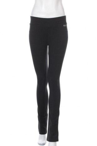 Дамско спортно долнище H.i.s, Размер S, Цвят Черен, 90% памук, 10% еластан, Цена 41,30лв.