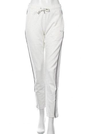 Дамско спортно долнище Henry I. Siegel, Размер S, Цвят Бял, 60% памук, 40% полиестер, Цена 38,35лв.