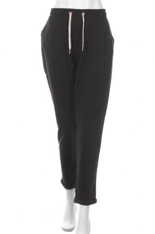 Дамско спортно долнище Lascana, Размер XL, Цвят Черен, 50% памук, 50% полиестер, Цена 38,35лв.