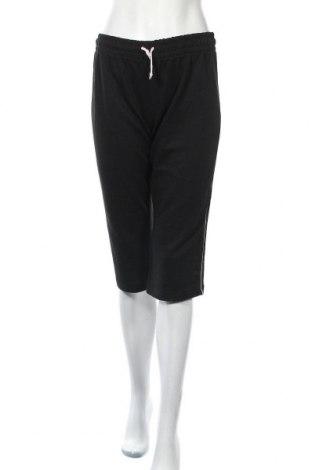 Дамско спортно долнище Okay, Размер M, Цвят Черен, 80% памук, 20% полиестер, Цена 10,50лв.