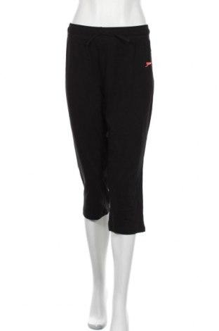 Дамско спортно долнище Slazenger, Размер XL, Цвят Черен, 95% памук, 5% еластан, Цена 19,95лв.