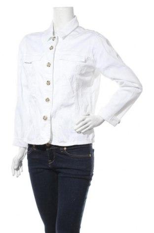 Дамско яке Brookshire, Размер M, Цвят Бял, 97% памук, 3% еластан, Цена 33,60лв.