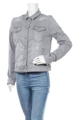 Дамско яке Ltb, Размер XL, Цвят Сив, 95% памук, 5% еластан, Цена 69,30лв.