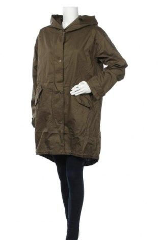 Γυναικείο μπουφάν S.Oliver, Μέγεθος L, Χρώμα Πράσινο, Βαμβάκι, Τιμή 57,60€
