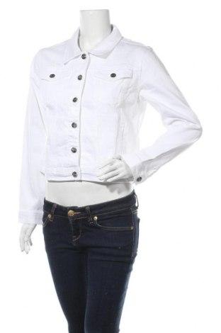 Дамско яке Tamaris, Размер L, Цвят Бял, 98% памук, 2% еластан, Цена 31,15лв.
