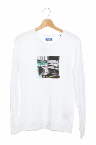 Детска блуза Jack & Jones, Размер 13-14y/ 164-168 см, Цвят Бял, Памук, Цена 16,72лв.