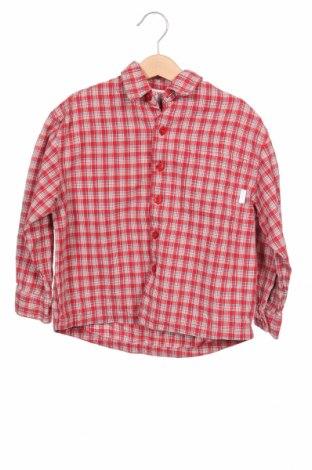 Детска риза Esprit, Размер 3-4y/ 104-110 см, Цвят Червен, Памук, Цена 11,52лв.