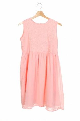 Детска рокля Friboo, Размер 15-18y/ 170-176 см, Цвят Розов, 70% памук, 30% полиамид, Цена 30,38лв.