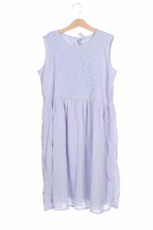 Детска рокля Friboo, Размер 12-13y/ 158-164 см, Цвят Син, Полиестер, памук, полиамид, Цена 41,30лв.