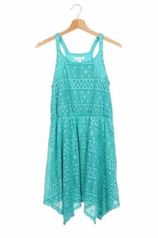 Детска рокля Xhilaration, Размер 15-18y/ 170-176 см, Цвят Зелен, 95% полиестер, 5% еластан, Цена 20,16лв.