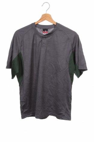 Детска тениска Alleson, Размер 15-18y/ 170-176 см, Цвят Сив, Полиестер, Цена 5,05лв.
