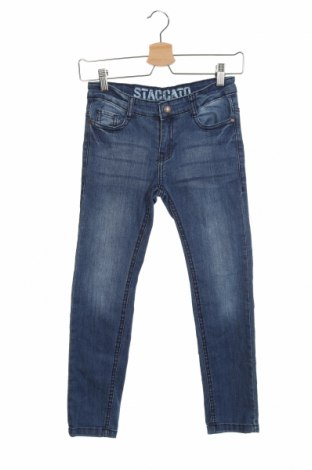 Детски дънки Staccato, Размер 8-9y/ 134-140 см, Цвят Син, Цена 26,88лв.