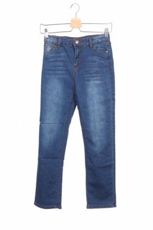 Детски дънки W, Размер 12-13y/ 158-164 см, Цвят Син, 73% памук, 26% полиестер, 1% еластан, Цена 12,15лв.