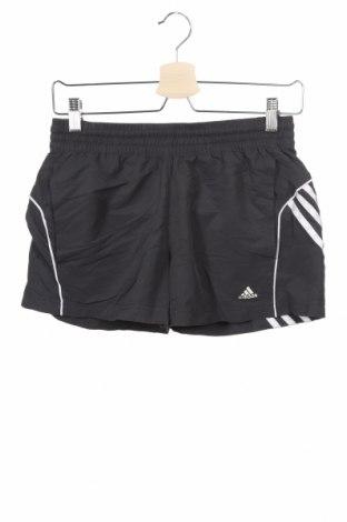 Παιδικό κοντό παντελόνι Adidas, Μέγεθος 13-14y/ 164-168 εκ., Χρώμα Γκρί, Πολυεστέρας, Τιμή 14,36€