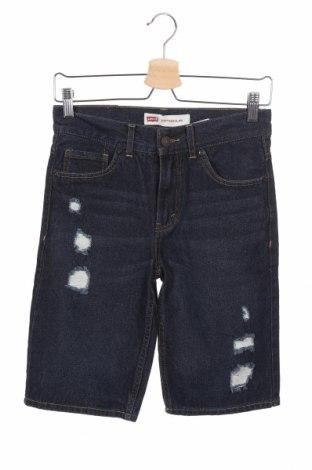 Παιδικό κοντό παντελόνι Levi's, Μέγεθος 11-12y/ 152-158 εκ., Χρώμα Μπλέ, Βαμβάκι, Τιμή 10,39€