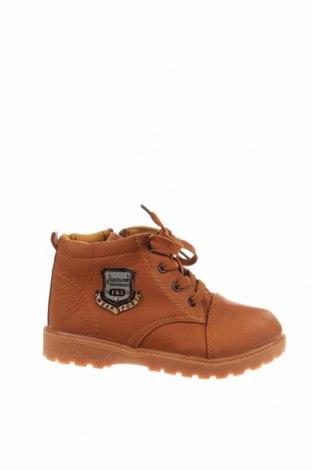 Детски обувки, Размер 34, Цвят Кафяв, Еко кожа, Цена 29,40лв.